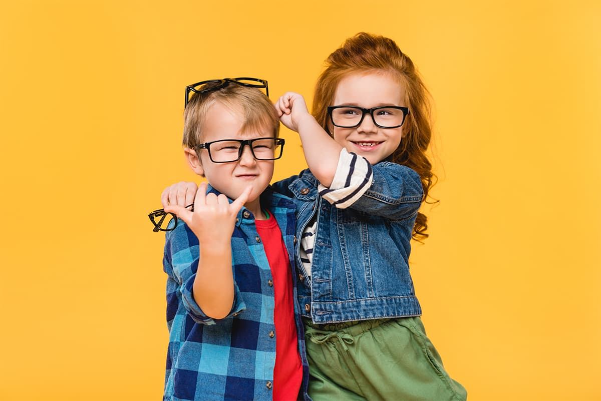 Glasses and eyewear for kids